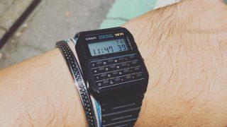 チプカシのデータバンク(ca53w)が熱い!カシオが世界に贈る胸アツ電卓時計!