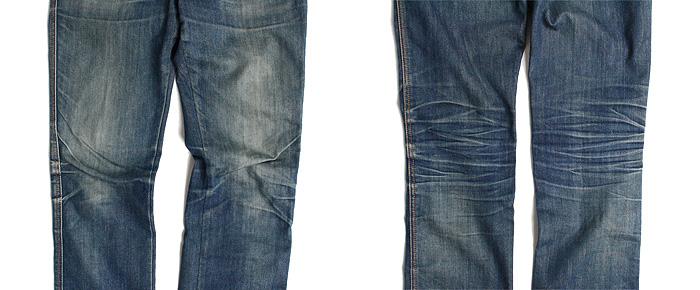 ストレッチデニムの色落ちは!?ジーンズの生地による穿き込んだ色落ちの違いをレポート!
