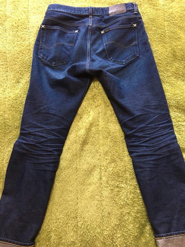 LEEライダース205タイトストレートが良い!左綾織りデニムの色落ちとリーアメリカンライダースを紹介!