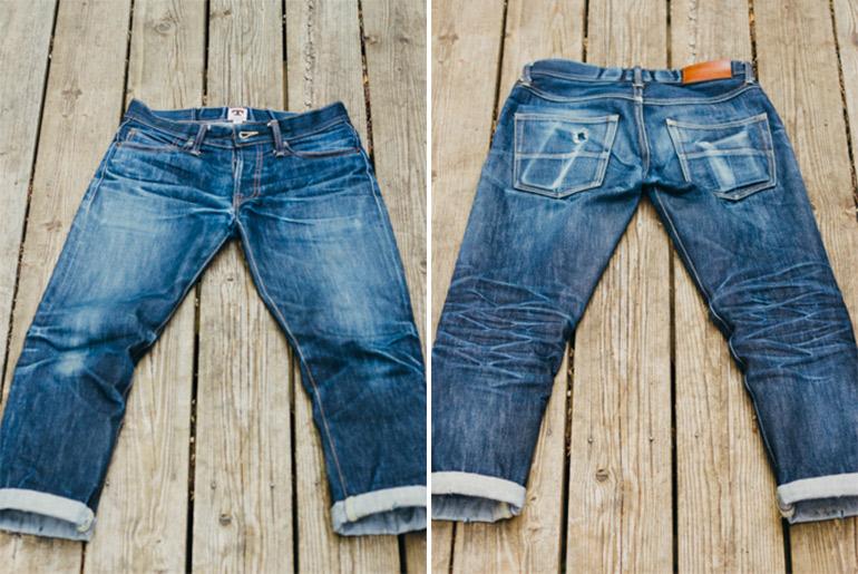 TELLASON(テラソン)デニムの評判は?穿き込みの色落ちレビューを紹介!コーンミルズ生地のジーンズの実力とは