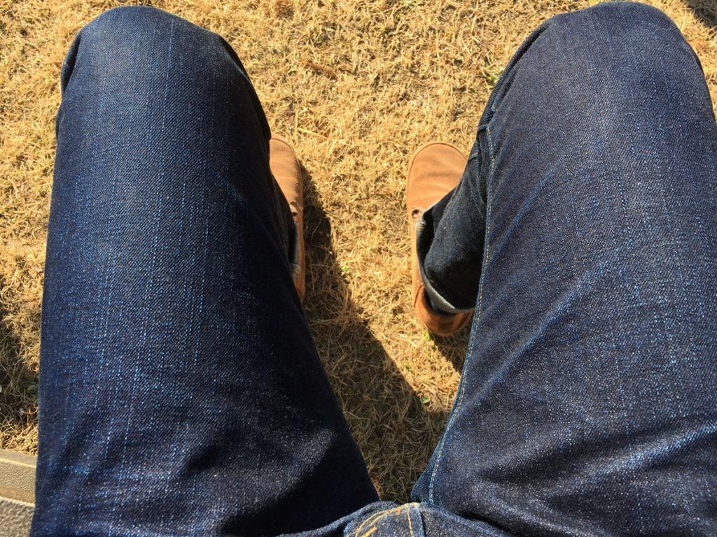 The Flat Head(フラットヘッド)のジーンズ3001の穿き込みレポート!フラヘのデニムの色落ちを徹底紹介!