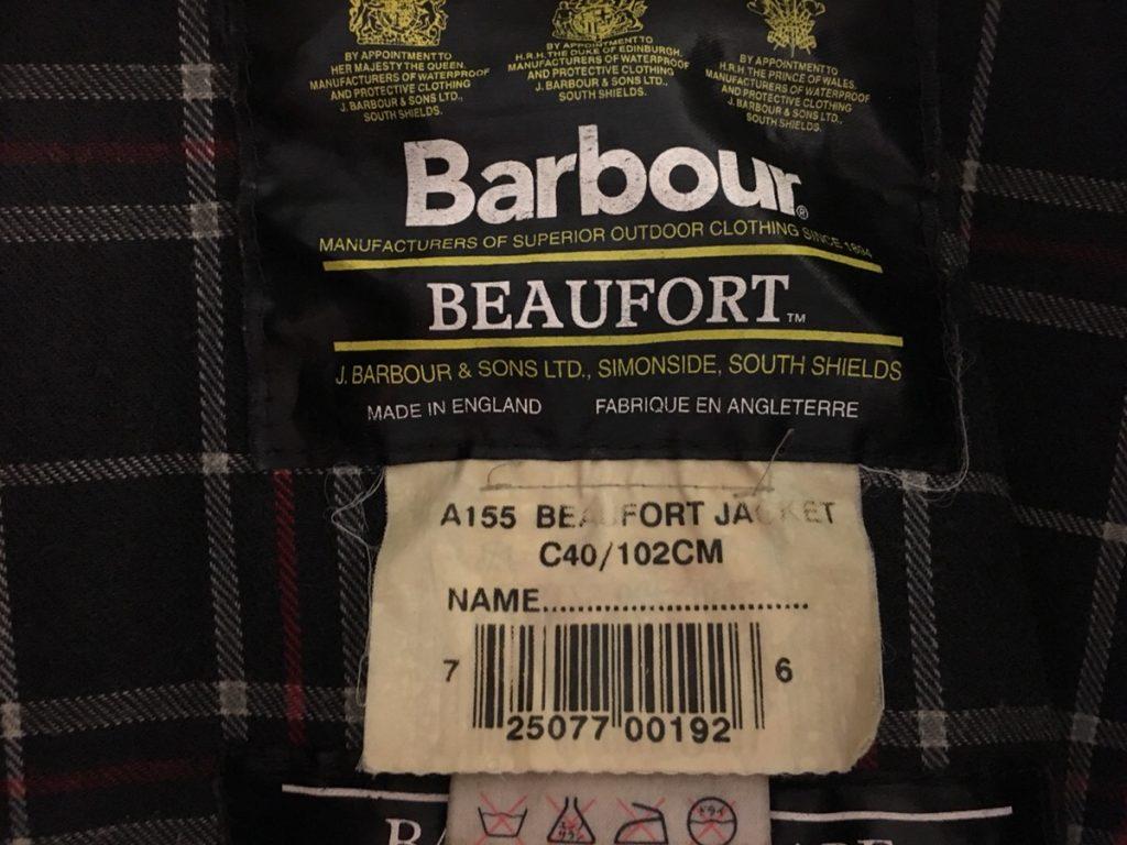 Barbour(バブアー)はビデイル派?ビューフォート派?臭いを消すためにオイルを抜いてノンオイルにしてみた