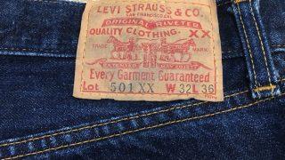 リーバイス501XXのビンテージ!?90年代バレンシア製の色落ちを紹介!Levis501XXの見分け方とかはあるの?