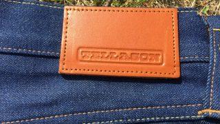TELLASON(テラソン)のスリムテーパードのナチュラルインディゴが綺麗!色落ち穿き込みレポート!