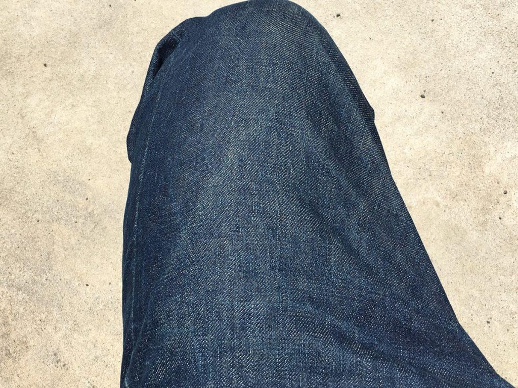 EVISU(エヴィス)ジーンズの穿き込んだ色落ちを紹介!ブログでも少ないエヴィスNo.2の2001カモメペイント無し!