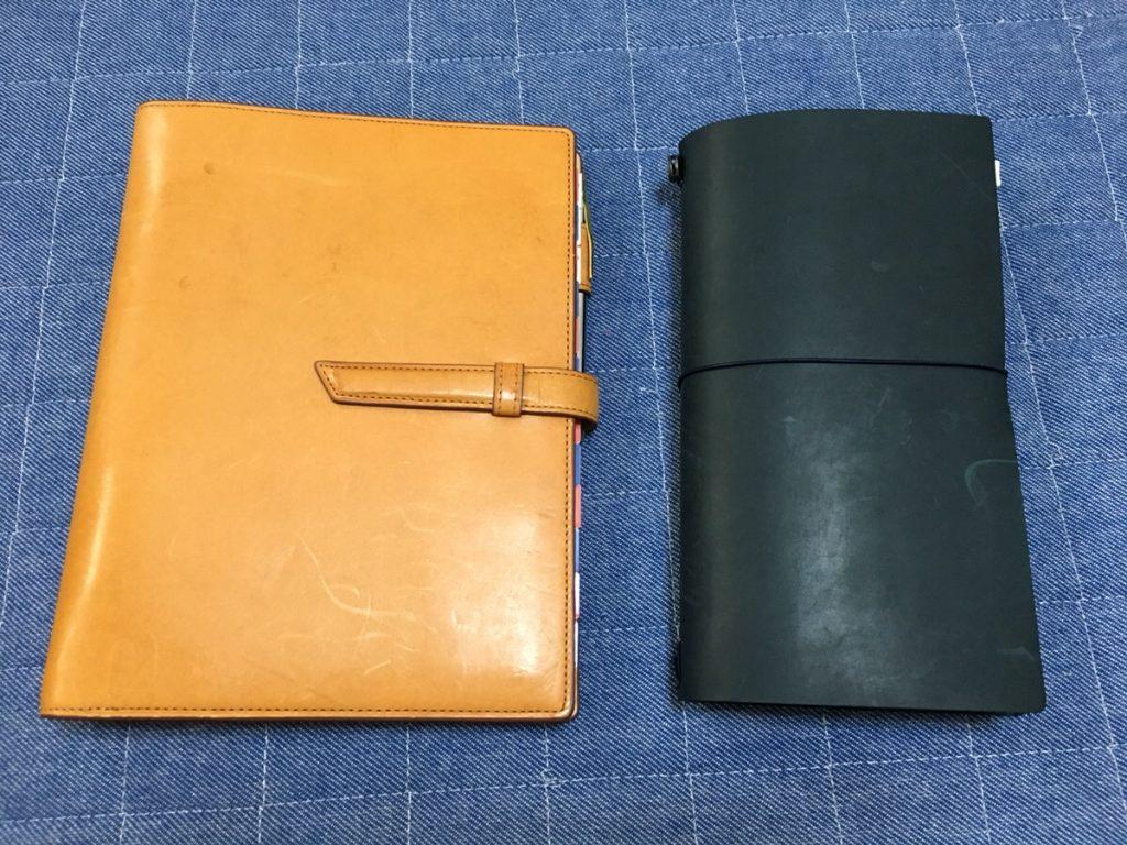 トラベラーズノート レギュラーサイズを持ち歩こう!パスポートサイズとの使い分けや寸法など比較しながら徹底紹介!