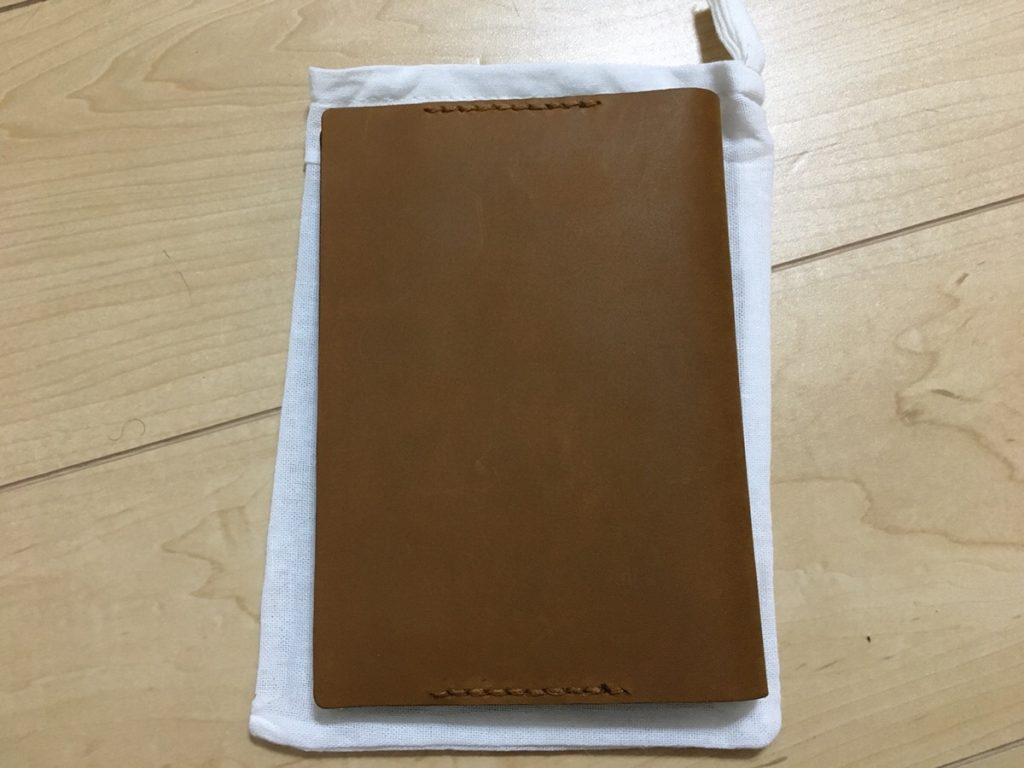 トラベラーズノートの文庫サイズ!?TFレザーブックカバーを使って文庫サイズの手帳カバーを作ろう!