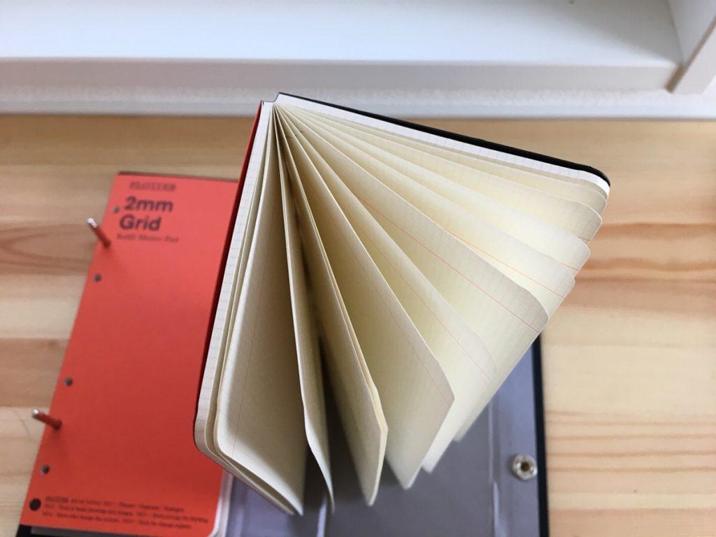 PLOTTER(プロッター)の活用方法は?スリム型システム手帳をどう使うのか