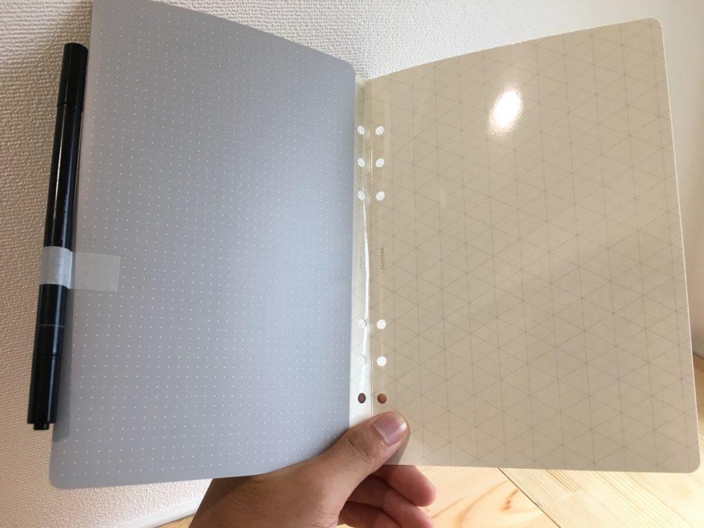 PLOTTER(プロッター)のA5サイズのシステム手帳をレビュー!バインダー・リフィルの活用法!