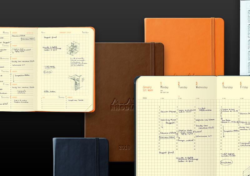 ロディアのメモ帳にカバーを付けて持ち歩こう!使い方は色々のNo.11やNo.12を楽しもう!