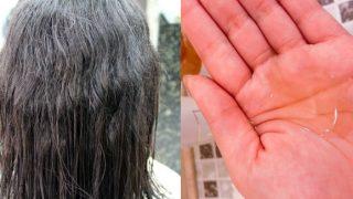 パサパサのクセ毛がこんなに!?今話題の自宅で出来る髪の毛を洗う美容液が凄い