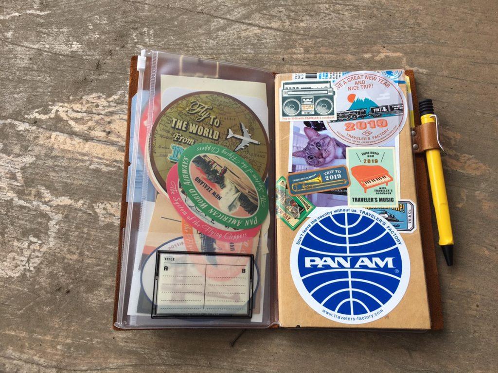トラベラーズノートとプロッターの使い方の違いや中身を紹介!手帳との向き合い方