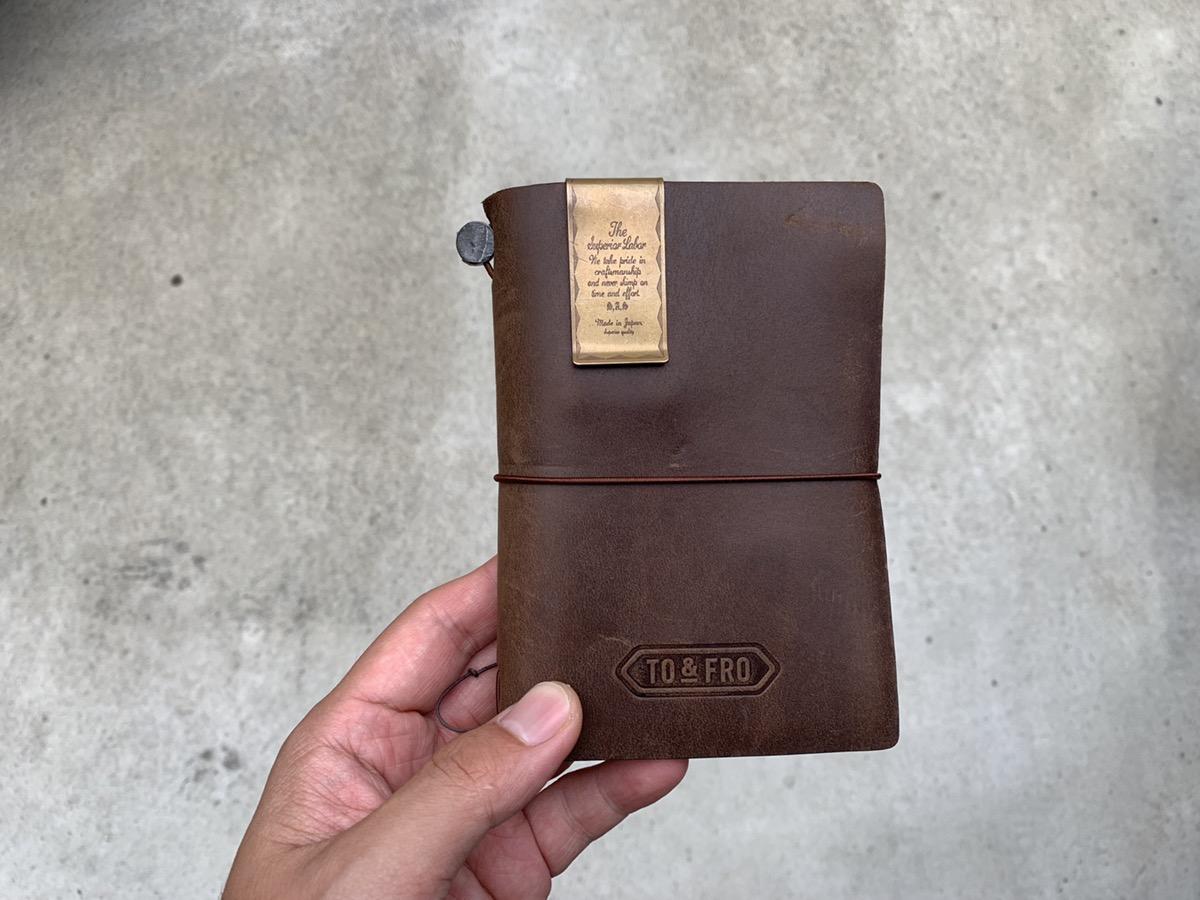 トラベラーズノートとTO&FROのコラボアイテムを購入!パスポートサイズとレギュラーサイズを公開!