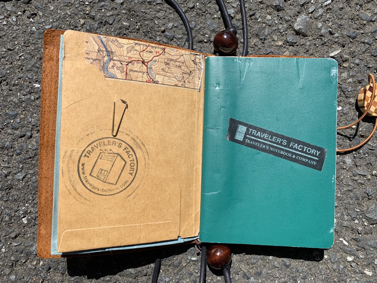 トラベラーズノートのパスポートサイズをポーチ化させてみた!簡単なやり方を紹介